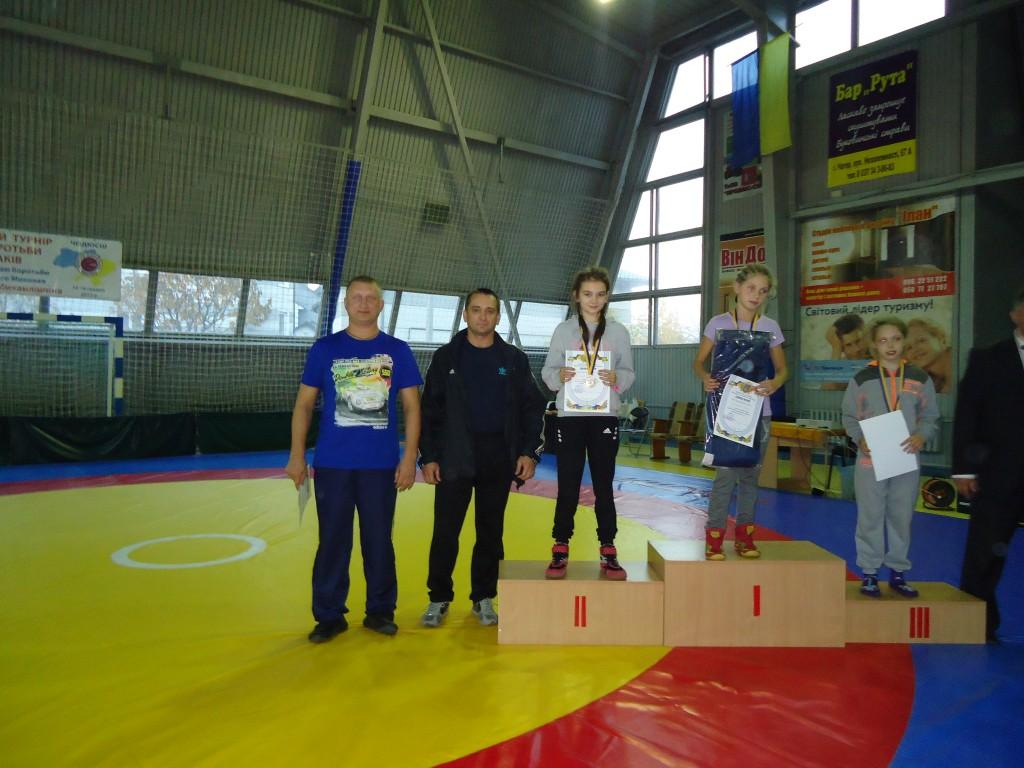 Падошик Настя срібна призерка Чемпіонату України з вільної боротьби в  Чернівцях