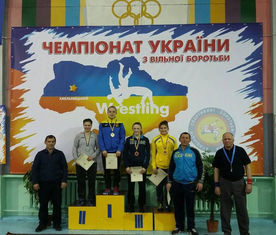 Чемпіонат України з вільної боротьби серед чоловіків та жінок до 23 років місто Хмельницький 07-10 лютого 2017 2
