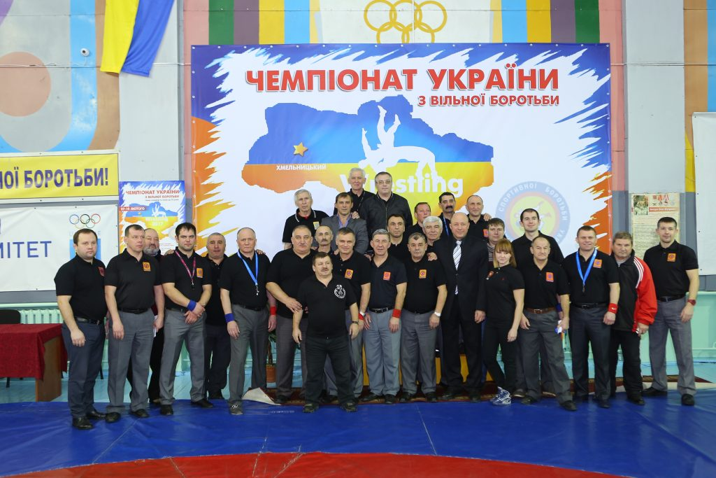 Чемпіонат України з вільної боротьби серед чоловіків та жінок до 23 років місто Хмельницький 07-10 лютого 2017 3